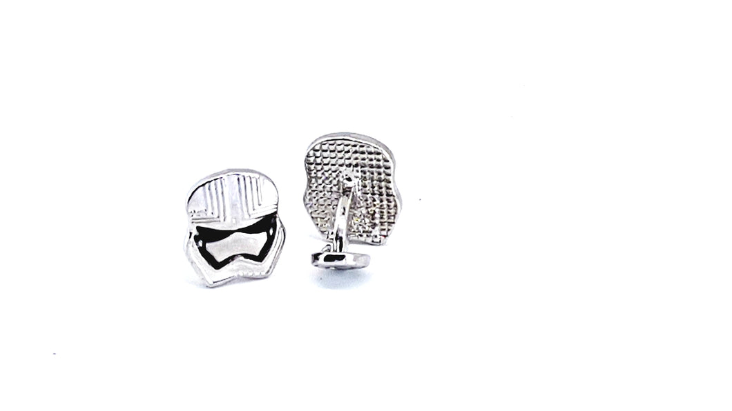 Storm Trooper Cufflinks - Crazy Cuffs