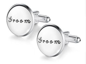 Groom Cufflinks - Crazy Cuffs