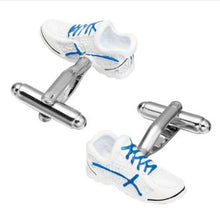 Load image into Gallery viewer, Cool Sport Shoe Cufflinks - Crazy Cuffs