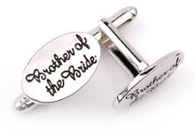 Load image into Gallery viewer, Brother of the Bride Cufflinks - Crazy Cuffs