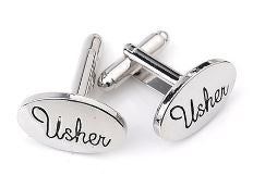 Usher Cufflinks - Crazy Cuffs
