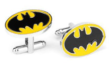 Load image into Gallery viewer, Classic Batman Cufflinks - Crazy Cuffs