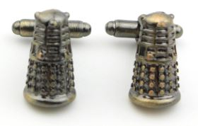 Classic Doctor Who Vintage Dalek Cufflinks - Crazy Cuffs