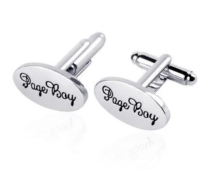 Page Boy Cufflinks - Crazy Cuffs