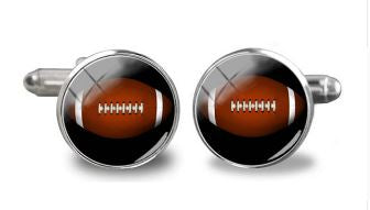 American Football Cufflinks - Crazy Cuffs