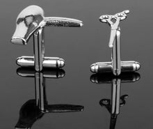 Load image into Gallery viewer, Perfect for the Hair dresser - Cufflinks - Crazy Cuffs