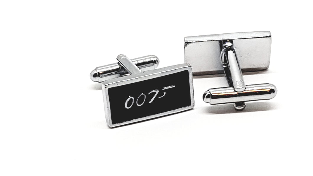 Rectangle 007 Cufflinks - Crazy Cuffs