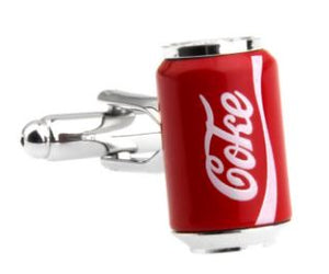 Can of Coke Cufflinks - Crazy Cuffs