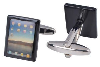 Very Cool, Classic iPad Cufflinks - Crazy Cuffs