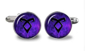 Glass City of Bones Fantasy Cufflinks - Crazy Cuffs