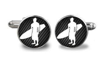 Cool Surfs Up Cufflinks - Crazy Cuffs