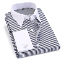 Load image into Gallery viewer, Stylish French Cuff Shirt - Crazy Cuffs