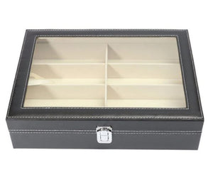 8 Slot Sunglass Storage Case - Crazy Cuffs