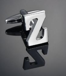 Single Letter Z Cufflink - Crazy Cuffs