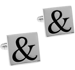 Cool Pair of Ampersand Symbol Cufflinks - Crazy Cuffs