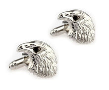 Load image into Gallery viewer, Eagle Head Cufflinks - Crazy Cuffs
