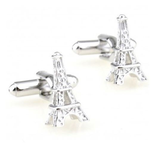 Eiffel Tower Cufflinks - Crazy Cuffs