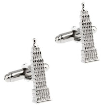 Load image into Gallery viewer, Empire State Building Cufflinks - Crazy Cuffs