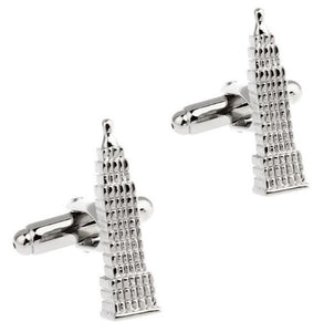 Empire State Building Cufflinks - Crazy Cuffs