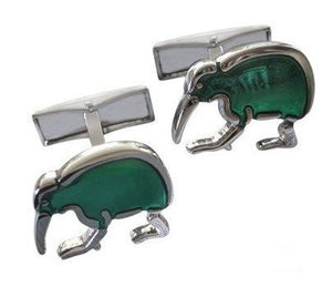 Green Kiwi Cufflinks - Crazy Cuffs