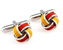 Load image into Gallery viewer, Trendy Knot Cufflinks - Crazy Cuffs