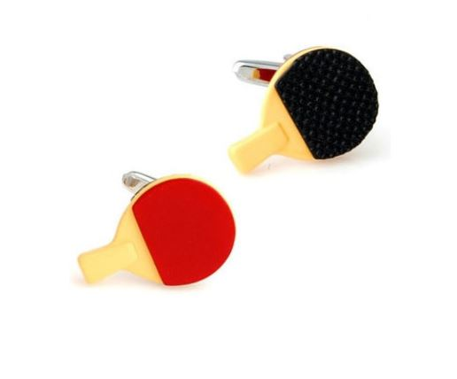 Table Tennis Cufflinks - Crazy Cuffs