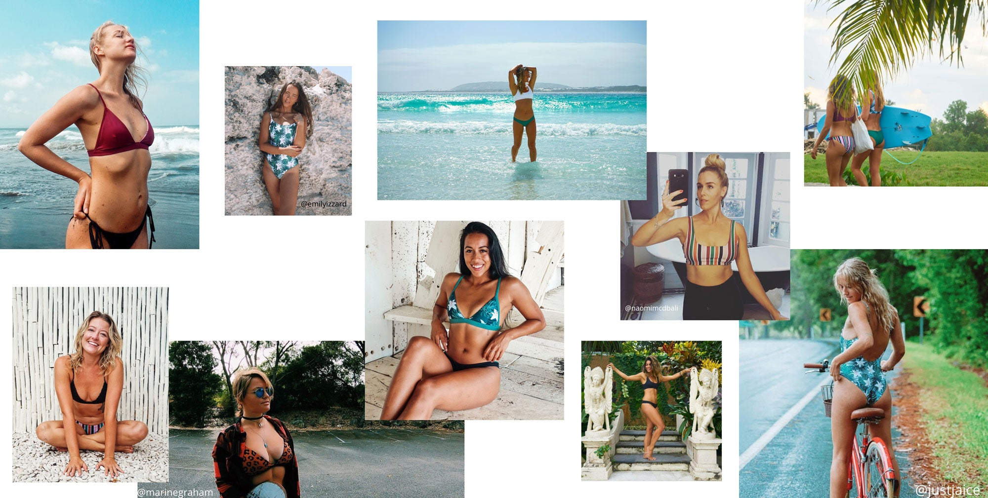 Sustainable Australian swimwear. Reversible bikinis, one pieces and surf suits ethically made from recycled plastic