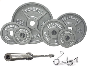 300 Pound Olympic Weight Set with Bar (Save $100!)