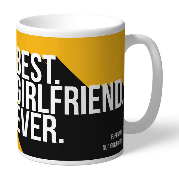 Wolverhampton Wanderers FC Best Girlfriend Ever Mug