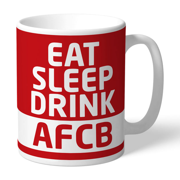 AFC Bournemouth FC Eat Sleep Drink Mug