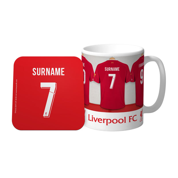 Liverpool FC Dressing Room Mug & Coaster Set