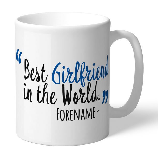 Reading Best Girlfriend In The World Mug