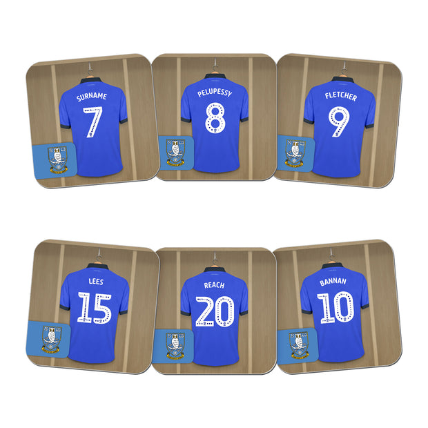 Sheffield Wednesday FC Dressing Room Coasters