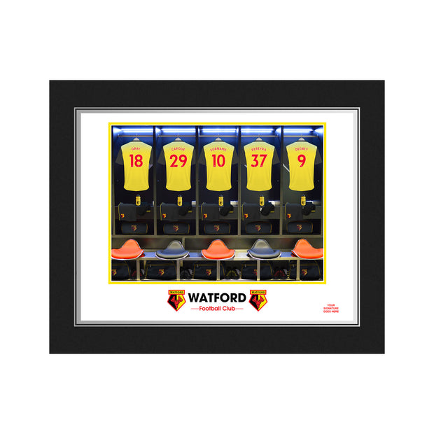 Watford FC Dressing Room Photo Folder