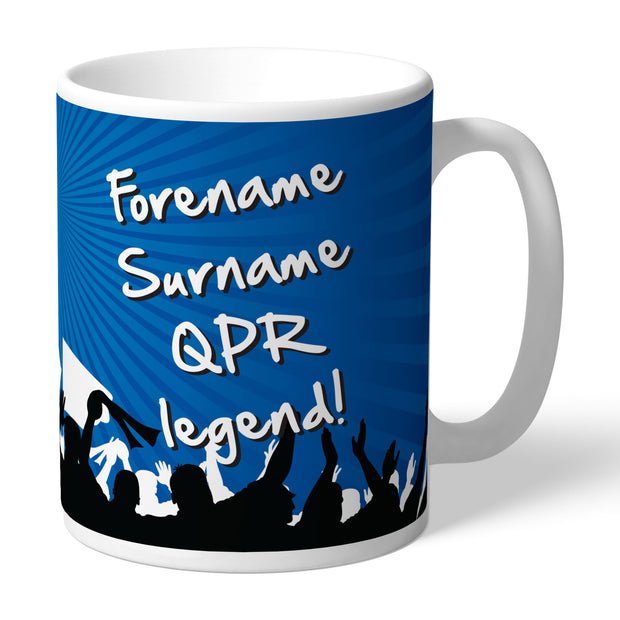 Queens Park Rangers FC Legend Mug