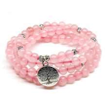 Load image into Gallery viewer, Pink Beads Buddhist