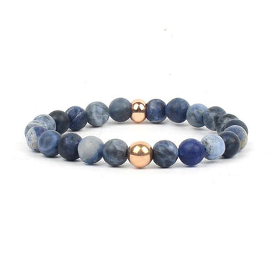 Natural Stone Matte Beads