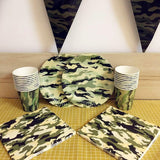 Camouflage party set