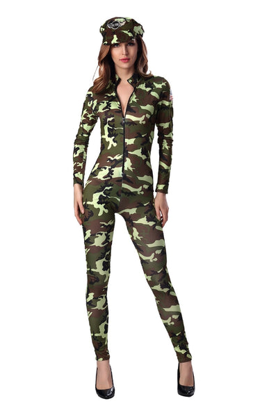 Sexy Army Uniform Costume