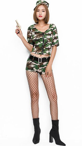 Camouflage Police Cosplay