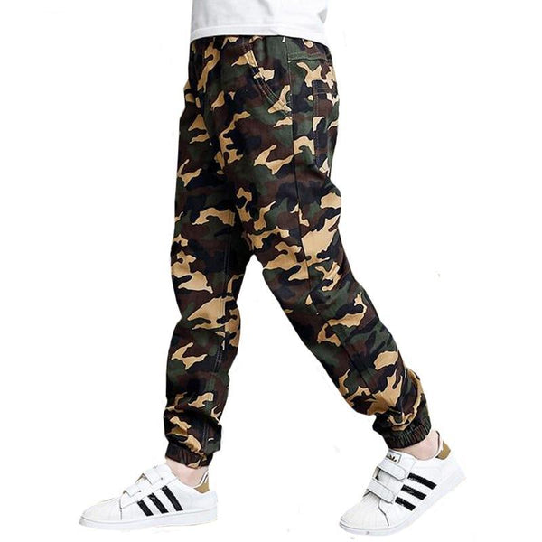Kids Camouflage Trousers