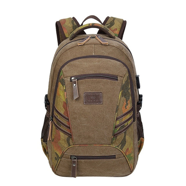 Teenager Camo backpack