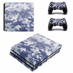 For Sony PlayStation 4 Console and 2 Controllers PS4 Pro Skins Sticker Decal Vinyl