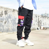 Purple Skateboard Color Pants Men Cotton Camo Hip Hop Fashion Cargo Pants Military Style Mens Trousers Streetwear Joggers Swag