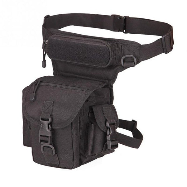 Tactical Military Waterproof Leg Bag Multi-pockets. Perfect for Camping or Hiking