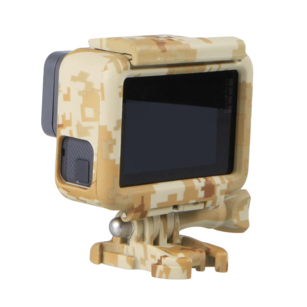 Cool Style Camo Camouflage Housing Protective Frame Case For GoPro Hero 5 Action Camera Cases Cover