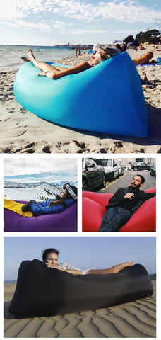 Easy Inflating Beach Chair