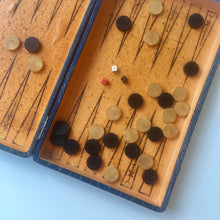 Load image into Gallery viewer, Vintage Backgammon i Skinn