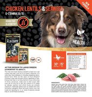 A La Carte Grain Free Chicken, Lentils and Seaweed, Dog Food, Crazy Dog Lady