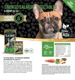 A La Carte Grain Free Smoked Salmon & Green Vegetables, Dog Food, Crazy Dog Lady